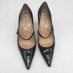 Isaac Made in Italy Patent leather Mary Jane pimp